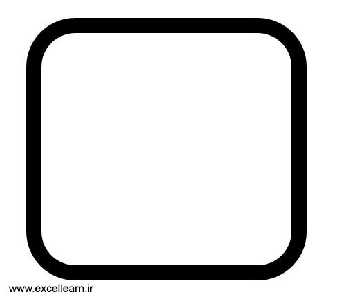 تصویر 7- طراحی لوگوی اینستاگرام در نرم افزار پاورپوینت