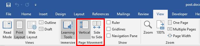 معرفی و کاربرد ابزارهای جدید نرم افزار Microsoft Word2019