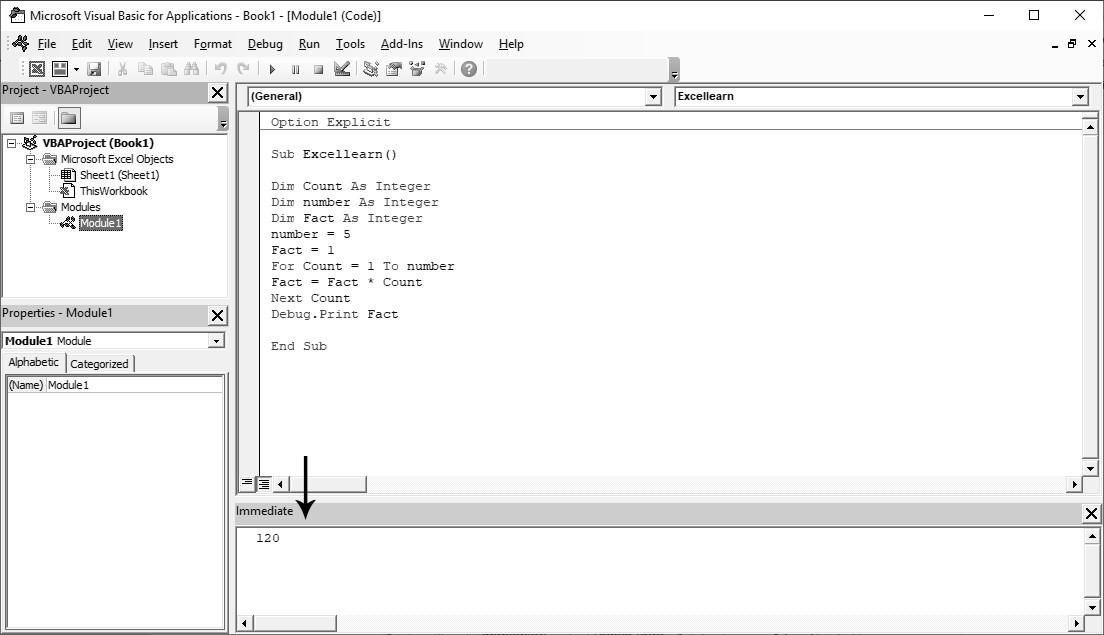 معرفی و کاربرد Debug.print در ماکرونویسی اکسل