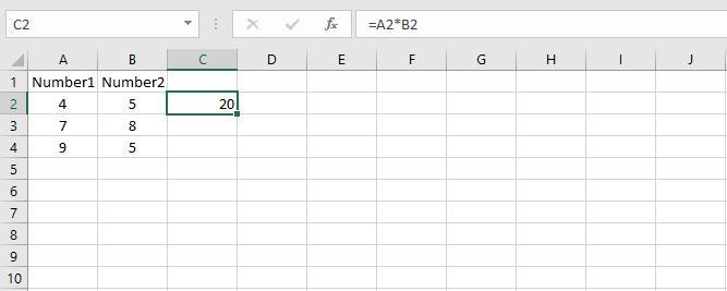 فرمول نویسی از نوع آرایه ای در اکسل