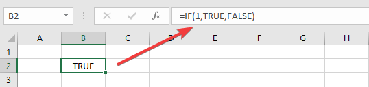 اثبات رابطه TRUE و FALSE با 0 و 1 در اکسل